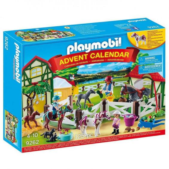 Playmobil Calendario de Adviento Granja de Caballos - 9262