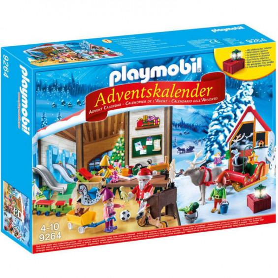 Playmobil Calendario de Adviento Taller de Navidad - 9264