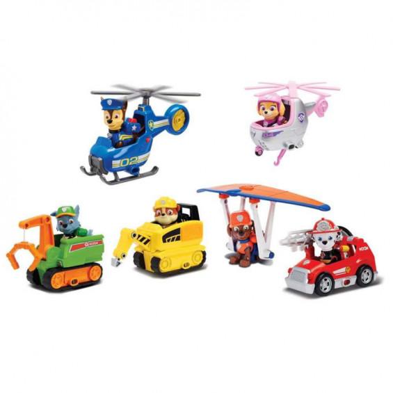 Paw Patrol Mini Vehículo con Figura Varios Modelos