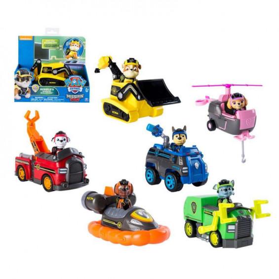 Paw Patrol Vehículo y Figura Mission Varios Modelos