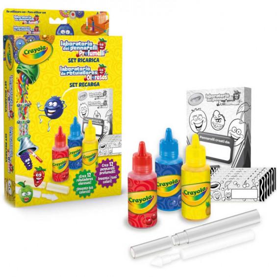Crayola Set Recarga Laboratorio de Rotuladores Olorosos