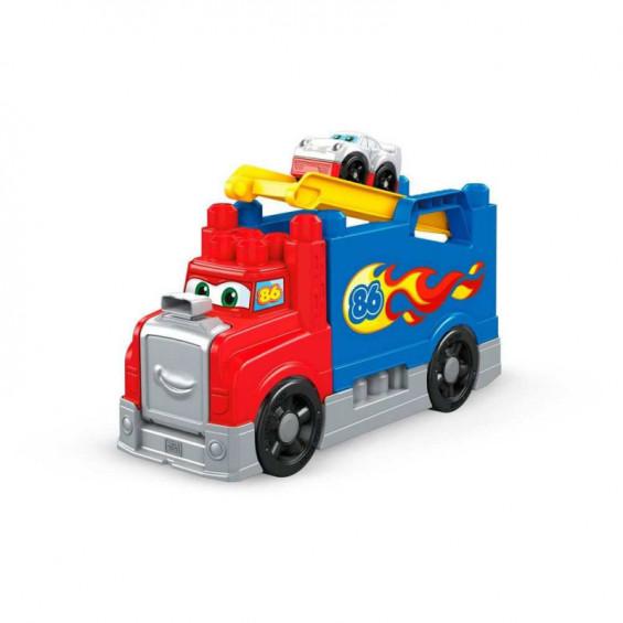 Megablok Storytelling Camión Carreras y Construcción