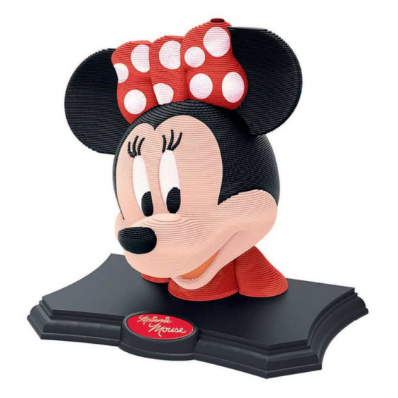 Puzzle 3D Minnie Escultura Color