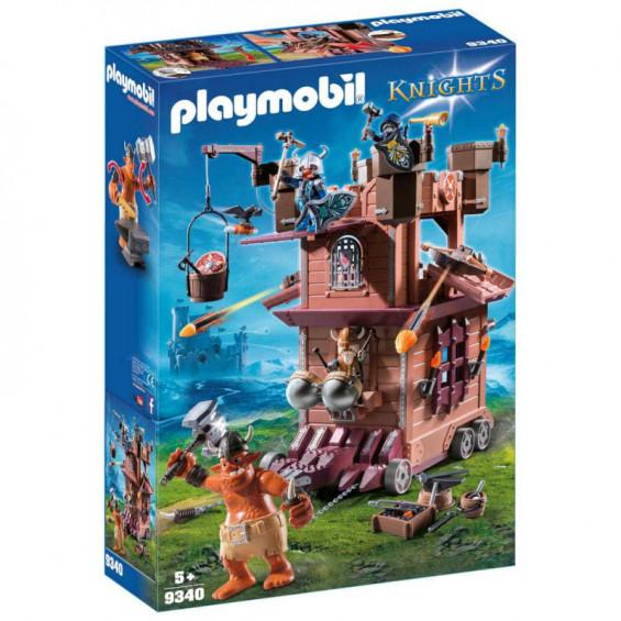 Playmobil Knights Fortaleza Móvil Gnomos - 9340