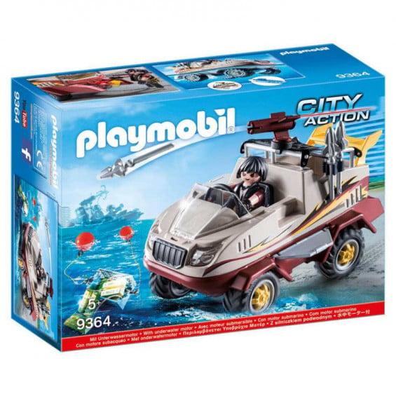 Playmobil City Action Coche Anfibio - 9364