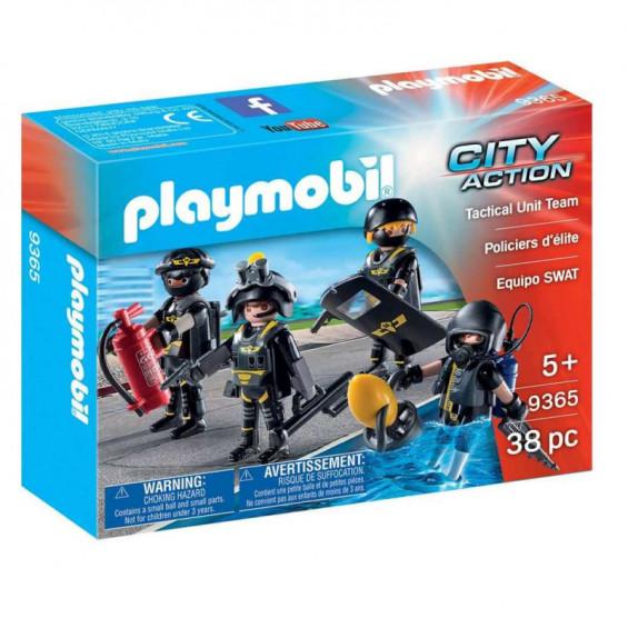 Playmobil City Action Equipo de las Fuerzas Especiales - 9365