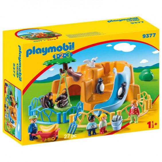 Playmobil 1.2.3 Zoo - 9377