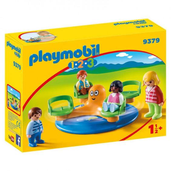 Playmobil 1.2.3 Carrusel Infantil - 9379