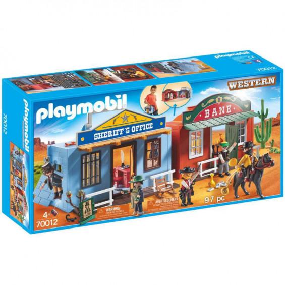 Playmobil Western Ciudad del Oeste Maletín - 70012