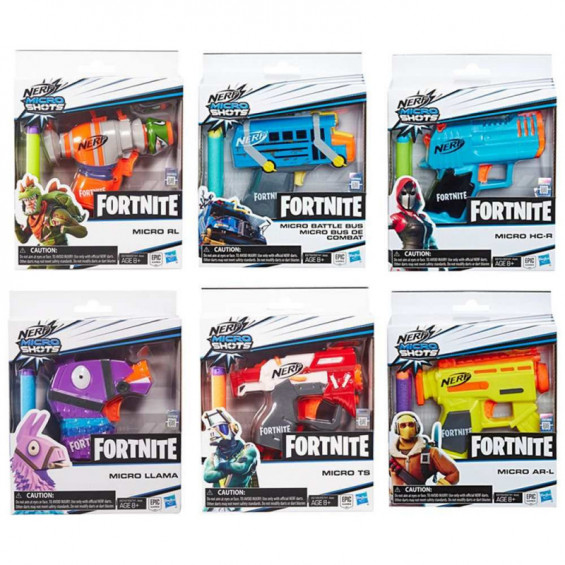 Nerf Fortnite Microshots Varios Modelos