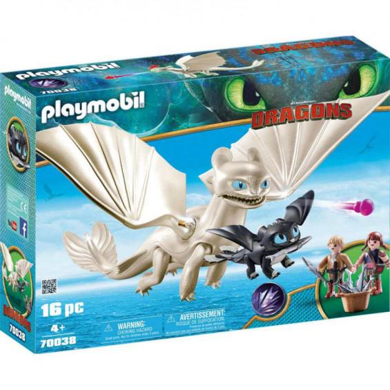 Playmobil Dragons Set de Juego Furia Diurna - 70038