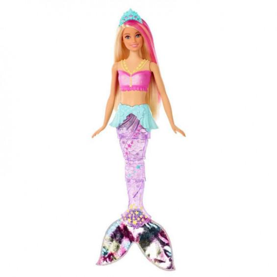 Barbie Dreamtropía Sirena Nada y Brilla
