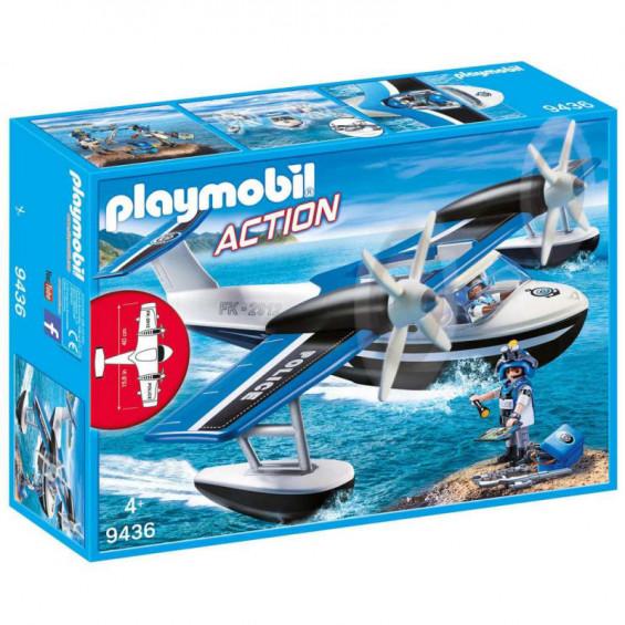 Playmobil Action Hidroavión de Policía - 9436