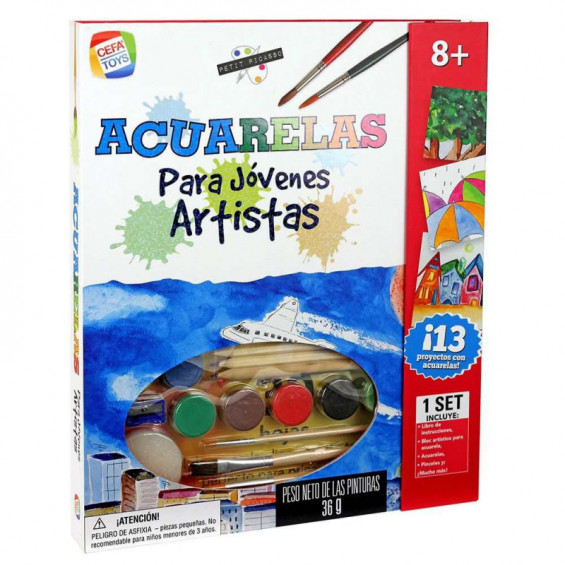 Pintura con Acuarelas Petit Picasso