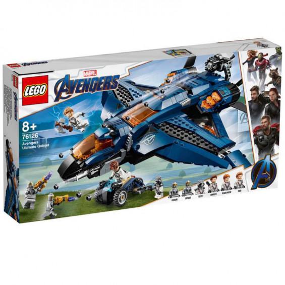 LEGO Super Heroes Quinjet Definitivo de los Vengadores - 76126