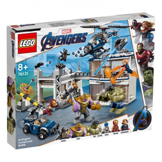LEGO Super Heroes Batalla en el Complejo de los Vengadores - 76131