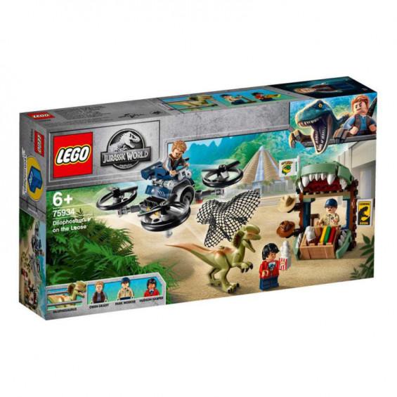 LEGO Jurassic World Dilofosaurio a la Fuga - 75934