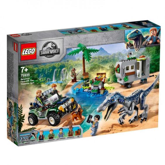 LEGO Jurassic World Encuentro con el Baryonyx: La Caza del Tesoro - 75935