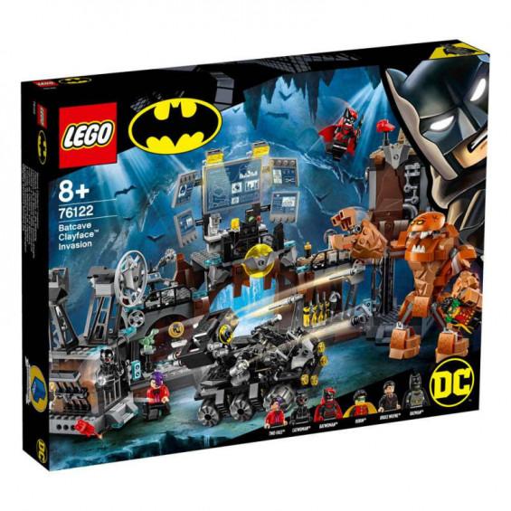 LEGO Super Heroes Irrupción de Clayface™ en la Batcueva - 76122