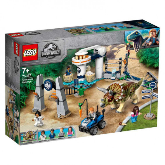 LEGO Jurassic World Caos del Triceratops - 75937