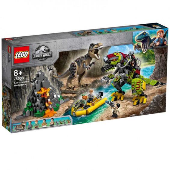 LEGO Jurassic World T. Rex Vs. Dinosaurio Robótico - 75938