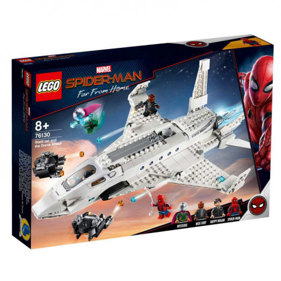 LEGO Super Heroes Jet Stark y el Ataque del Dron - 76130