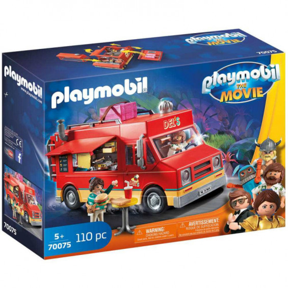 Playmobil The Movie Food Truck Del's - 70075