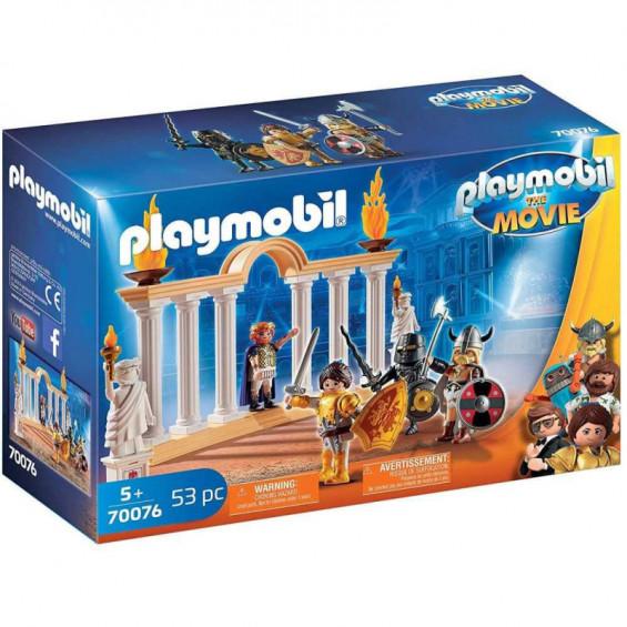 Playmobil The Movie Emperador Maximus en el Coliseo - 70076