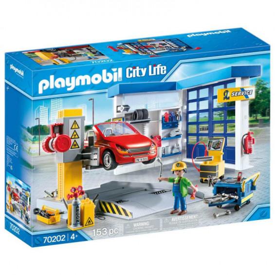Playmobil City Life Taller de Coches - 70202