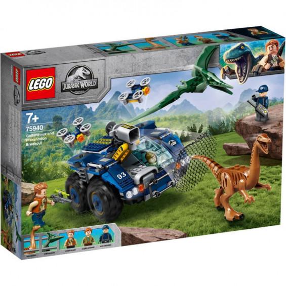 LEGO Jurassic World Fuga del Gallimimus y el Pteranodon - 75940