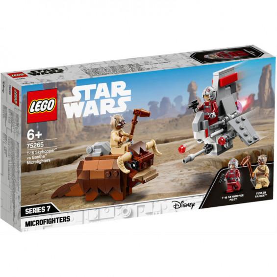 LEGO Star Wars Microfighters: Saltacielo T-16 Vs. Bantha - 75265