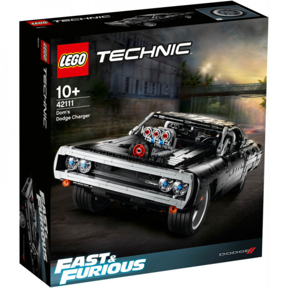 LEGO Technic Dom's Dodge Charger ( Fast & Furious ) - 42111