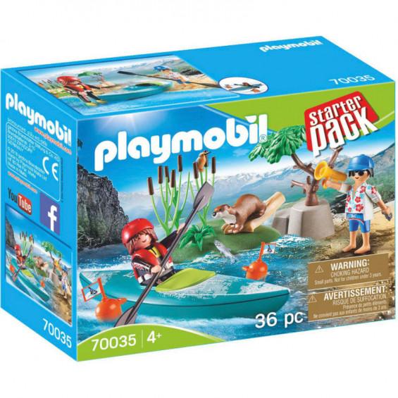 Playmobil StarterPack Aventura en Canoa - 70035