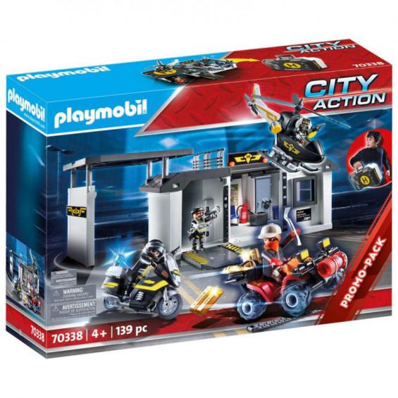 Playmobil City Action Comisaría Fuerzas Especiales Maletín - 70338