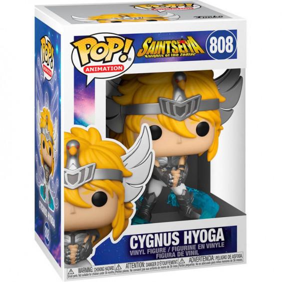 Funko Pop! Animation Saint Seiya Figura de Vinilo Cygnus Hyoga