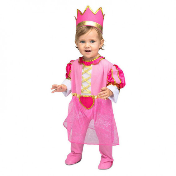 Disfraz Bebé Princesa Rosa