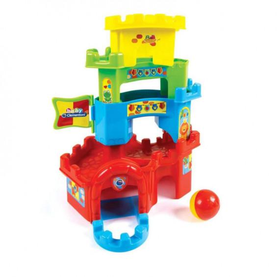 Baby Clementoni Torre Apilable Con Circuito De Bola