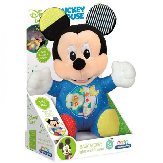 Disney Baby Peluche Baby Mickey Luces y Sonidos
