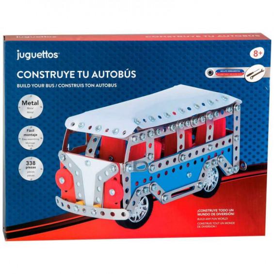 Juguettos Construye tu Autobús 338 Piezas
