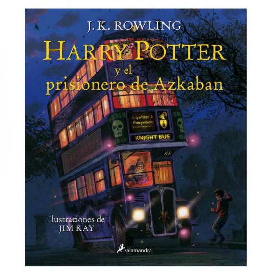 Harry Potter y el Prisionero de Azkaban Edición Ilustrada