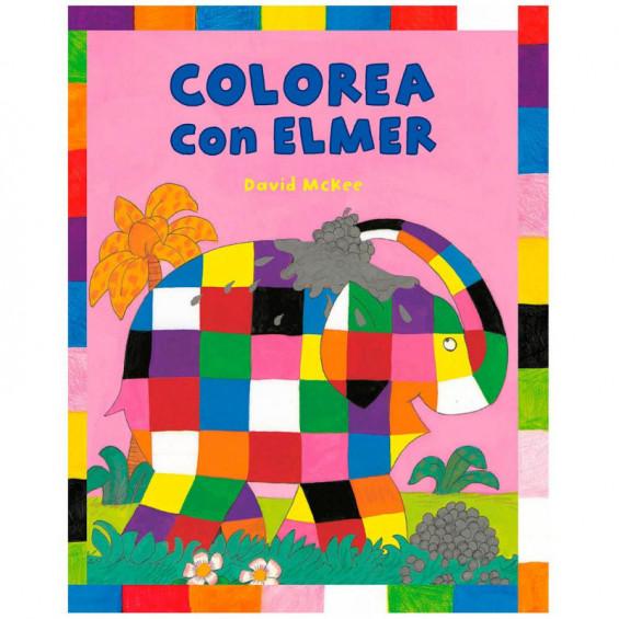 Colorea con Elmer Actividades